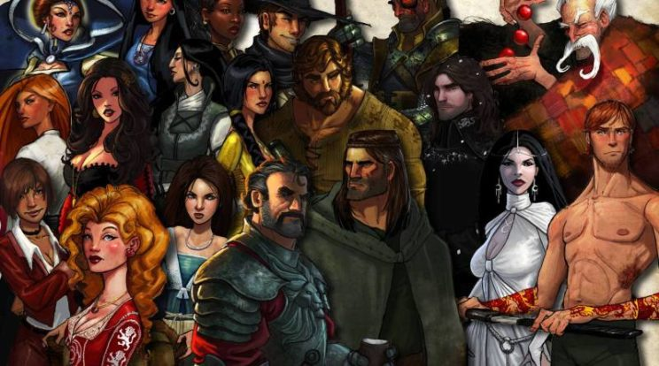 Wheel of time character montage